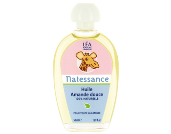 Découvrez l'huile d'amande douce Natessance