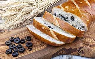 faire du pain aux olives