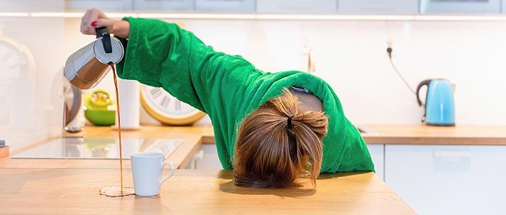 Accumulation de fatigue et stress