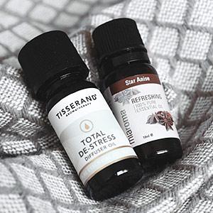 Fiole d'huiles essentielles