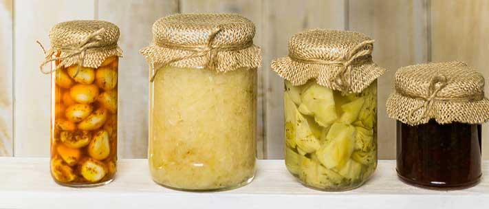 lacto-fermentation avec saumure