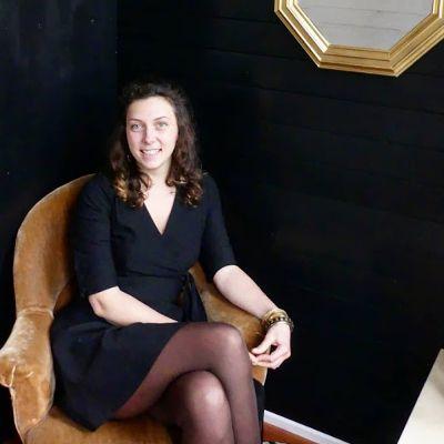 photo portrait mathilde autoconstructrice de tiny house