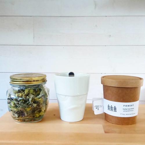 Rhoeco, le thé à replanter, cadeau écoresponsable, zéro déchet et original pour la saint-valentin.