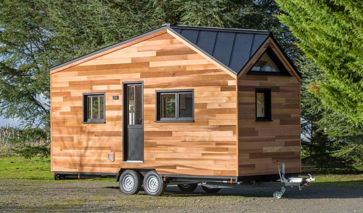 Tiny house de l'entreprise Baluchon, modèle Nottingham