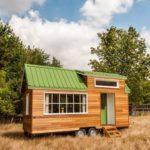 tiny house baluchon toit vert