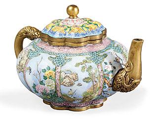 Théière chinoise du XVIIIe siècle.