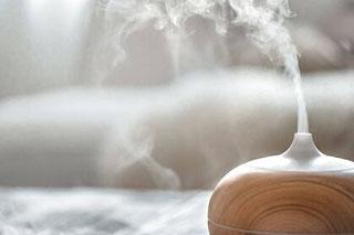 Diffusez des huiles essentielles pour faire fuir les moucherons